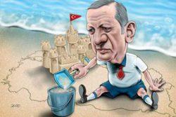 أردوغان إيران رسوم كاريكاتور