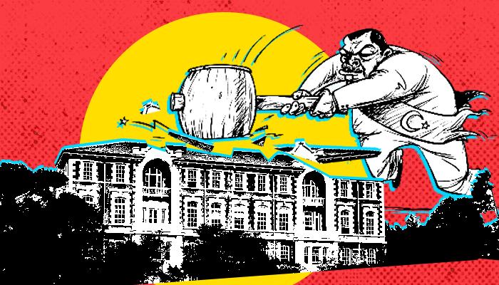 جامعة بوغازيتشي - جامعة البوسفور - سيطرة أردوغان على الجامعات - أزمة تعيين رئيس جامعة بوغازيتشي - تمكين أنصار أردوغان