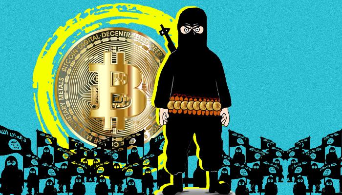البيتكوين والإرهاب - استخدام داعش للبيتكوين - استخدام القاعدة للبيتكوين - استخدام حماس للبيتكوين - التعاملات الإرهابية عبر البيتكوين