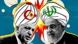 التوتر بين تركيا وإيران