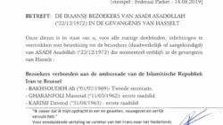 وثائق الشرطة البلجيكية 1 أسد الله أسدي