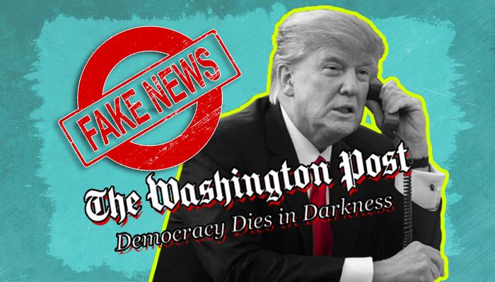 واشنطن بوست وترامب - ترامب وبايدن - تشويه صورة ترامب في الإعلام - أخطاء واشنطن بوست