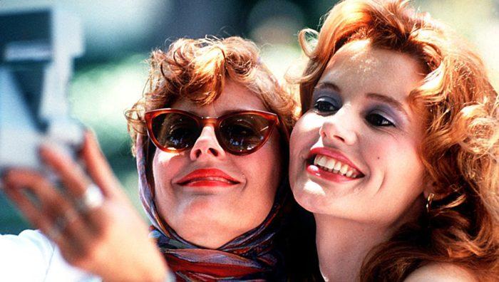 جينا ديفيز وسوزان سارندون - Thelma & Louise