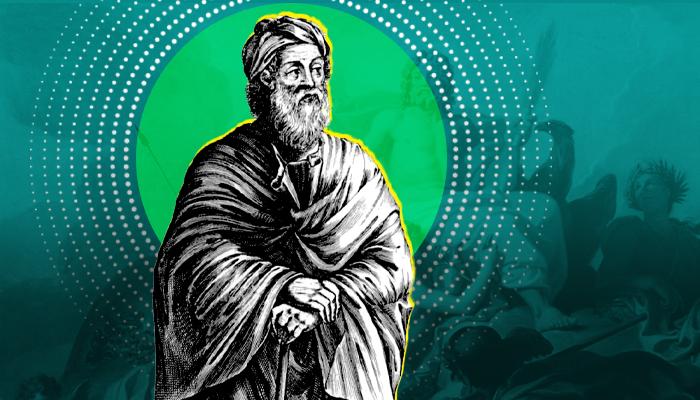 عباقرة الفلسفة اليونانية زينوفان