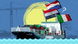 تحرير السفينة الجانحة قناة السويس