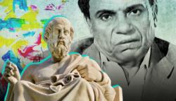 عادل إمام أفلاطون الفن والأفلاق الفن التحرش إفساد المجتمع