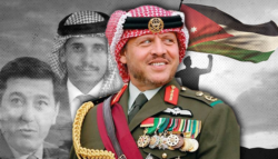 محاولة انقلاب الأردن الملك عبد الله الثاني ولي العهد السابق حمزة بن الحسين