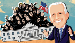 توسيع المحكمة العليا -  تعبئة المحكمة العليا -  بايدن والديمقراط -  بايدن والجمهوريون