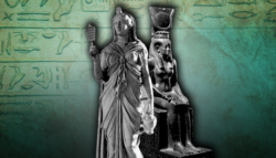 إيزيس الإلهة مصر القديمة