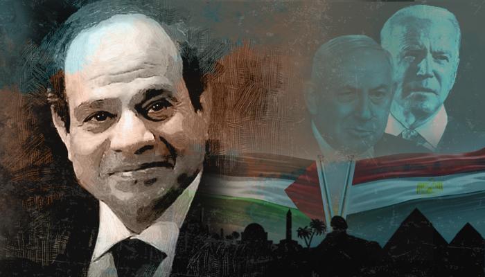 مصر السيسي بايدن إسرائيل حماس حرب غزة