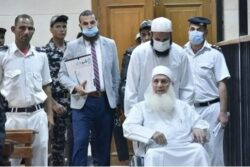 الشيخ محمد حسين يعقوب أمام المحكمة