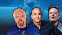سياحة الفضاء ريتشارد برانسون جيف بيزوس إيلون ماسك