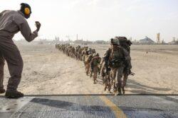 قاعدة السيلية - إحدى المنشآت التي طالها قرار إغلاق القواعد الأمريكية في قطر