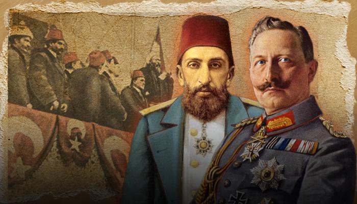 الحاج فيلهلم - الدولة العثمانية - ألمانيا - الحرب العالمية الأولى - عبد الحميد الثاني